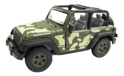 Коллекционная модель Welly Jeep Wrangler Rubicon 1:34