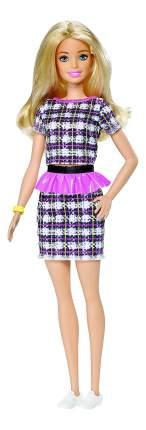 Кукла Barbie в клетчатом платье
