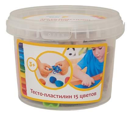 Тесто-пластилин Genio Kids Тесто-пластилин, 15 цветов