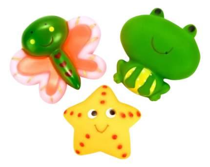 Игрушки для ванной Бабочка, звезда, лягушка Играем вместе В1581625