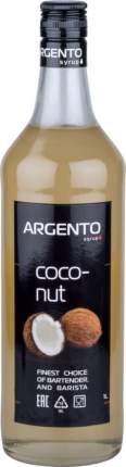 Сироп Argento кокос 1 л