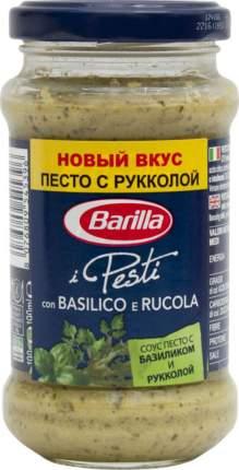 Соус песто Barilla i pesti alla genovese с базиликом и рукколой 190 г