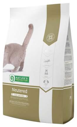 Сухой корм для кошек Nature's Protection NEUTERED, для стерилизованных, птица, 7кг