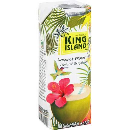 Кокосовая вода King Island 100 %  без сахара 250 мл