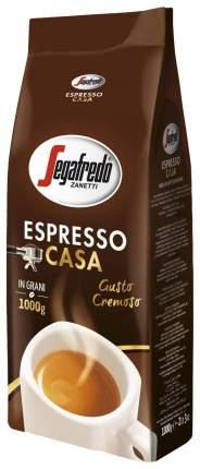 Кофе Segafredo espresso casa натуральный жареный в зернах 1 кг