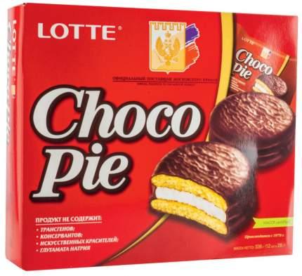 Пирожное choco pie Lotte 336 г