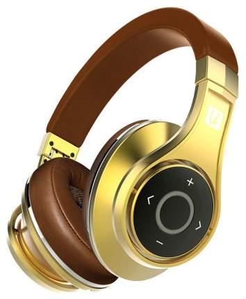 Беспроводные наушники Bluedio U Golden