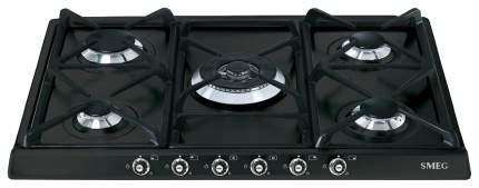 Встраиваемая варочная панель газовая Smeg SR775AX Black