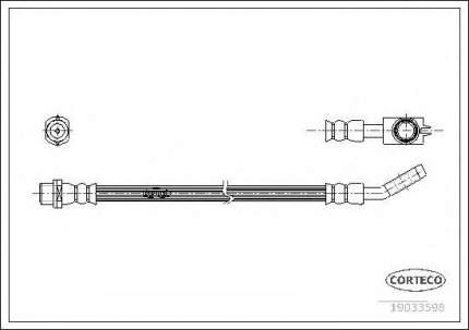 Шланг тормозной системы Corteco 19033598