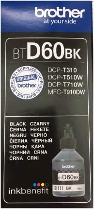 Чернила для струйного принтера Brother BTD60BK Черный