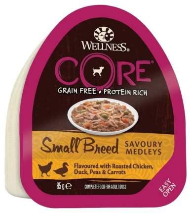 Консервы для собак Wellness CORE, курица, утка, 12шт по 85г