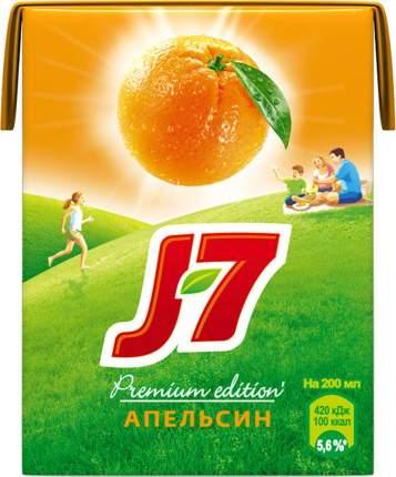 Сок апельсин J7 с мякотью 0.2 л
