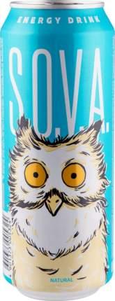 Напиток энергетический Sova безалкогольный газированный жестяная банка 0.5 л