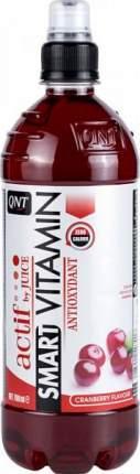 Изотоник QNT Smart Vitamin Actif by Juice, 700 мл, cranberry