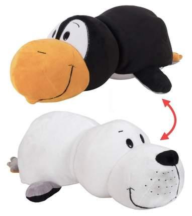 Мягкая игрушка 1 TOY Вывернушка Морской котик и Пингвин 40 см