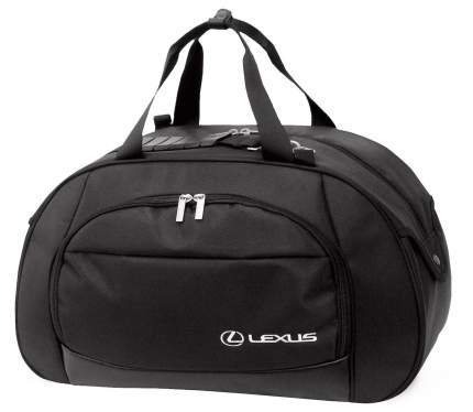 Дорожная сумка с логотипом Lexus OTS1608SVC черная