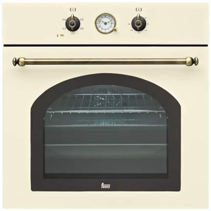 Встраиваемый электрический духовой шкаф TEKA HR 550 Beige/Gold