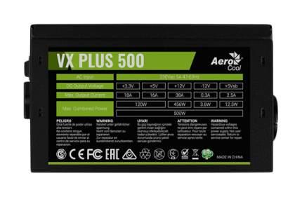 Блок питания компьютера Aerocool VX PLUS 500