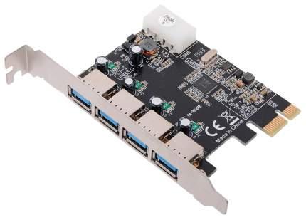PCI-e контроллер USB ORIENT VA-3U4PE