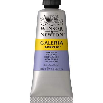 Акриловая краска Winsor&Newton Galeria бледно-фиолетовый 60 мл