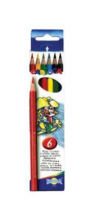 Карандаши цветные Carioca Набор карандашей цветных 6 цветов