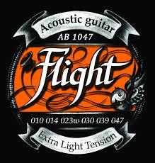 Струны для акустической гитары FLIGHT AB1047