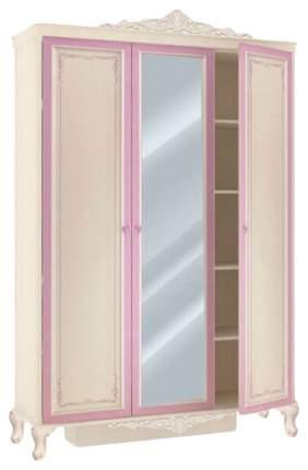 Платяной шкаф Любимый Дом LD_51768 140х59х220, алебастр/фиолетовый