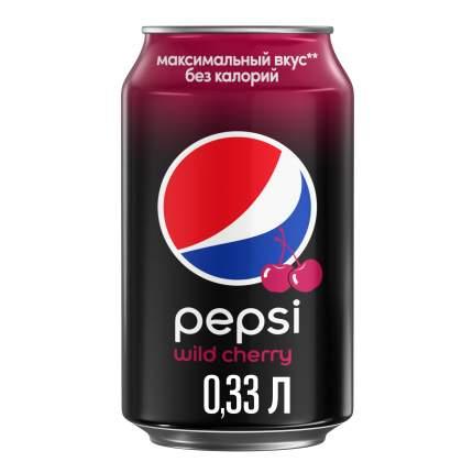 Напиток Pepsi вишня жестяная банка 0.33 л