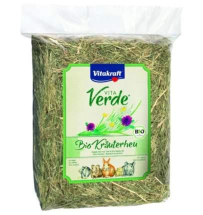 Наполнитель для туалета для грызунов Vitakraf VITA VERDE, луговое сено, смесь трав, 750г
