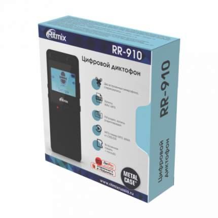 Цифровой диктофон Ritmix RR-910 4Gb Black