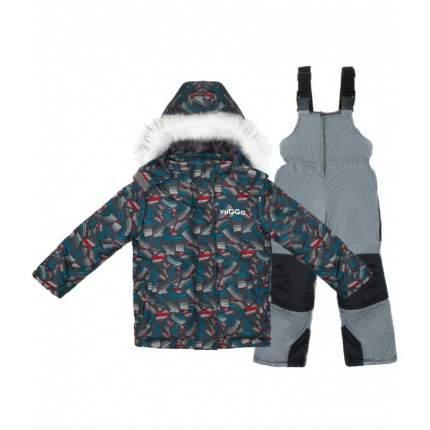 Комплект верхней одежды VUGGA, цв. синий р. 98