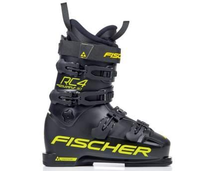 Горнолыжные ботинки Fischer RC4 Curv 110 PBV 2019, black/yellow, 27.5