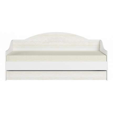 Кровать односпальная Компасс-мебель Соня премиум СО-25 80х200 см, белый/бежевый