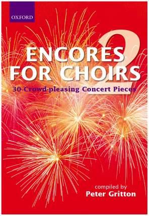 "Книга Oxford University Press Gritton Peter ""Encores for Choirs 2"""