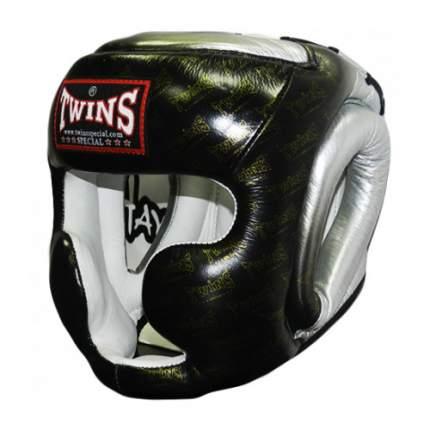 Шлем Twins FHGL3-TW1 черный/серебристый XL
