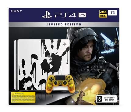 Игровая приставка Sony PlayStation 4 Pro 1Tb + Death Stranding Limited Edition