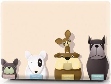 Накладка i-Blason Cover для MacBook Pro 15 2016 (Dog Family)