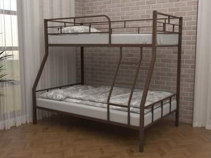 Двухъярусная кровать ЧСМФ Раута Коричневый