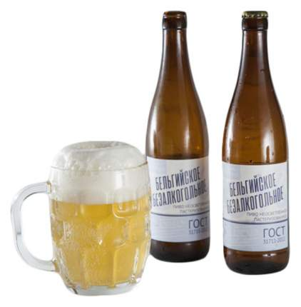 Пиво ВкусВилл безалкогольное бельгийское   0.5 л