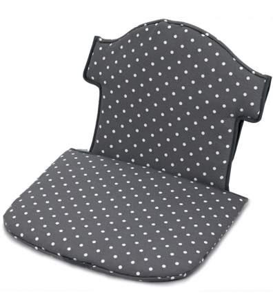 """Мягкая вставка для стульчика Geuther """"Swing"""" серая в белый горошек (цвет 154)"""