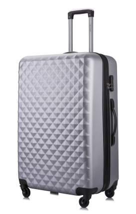 Чемодан с расширением L'Case Phatthaya-28 серебро XL