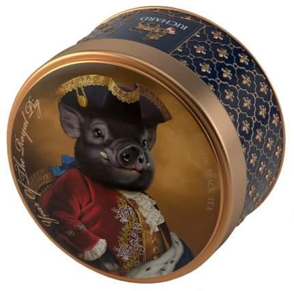 Чай Richard The Royal Pigs черный листовой 40 г