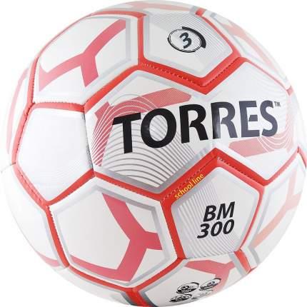 Футбольный мяч Torres BM 300 №3 white/red