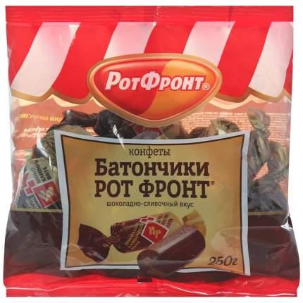 Конфеты Рот Фронт батончики шоколадно-сливочный вкус 250 г