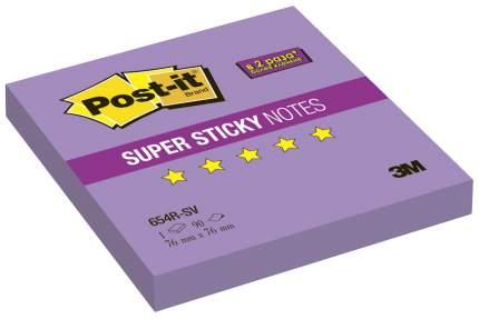 Блок самоклеящийся Post-it Super Sticky 654R-SV Фиолетовый 90 шт