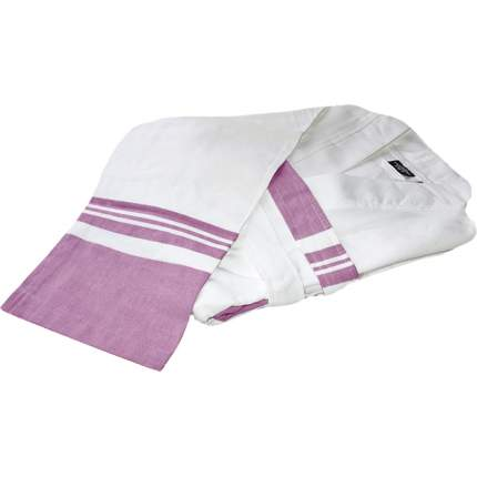 Халат «Mary» (Мэри), белый/розовый, размер S