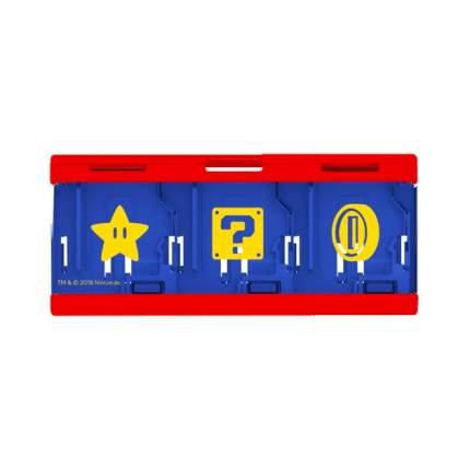 Кейс Hori Mario для хранения 6 игровых картриджей (NSW-106U)