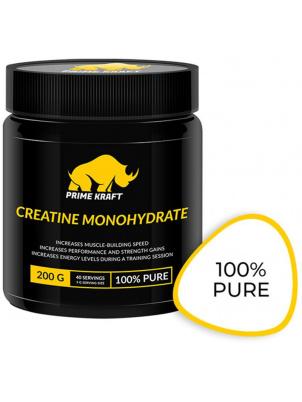 Креатин Prime Kraft Creatine Monohydrate 100% Pure, 200 г, unflavored