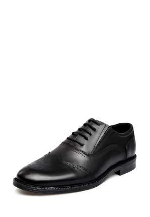 Туфли мужские Alessio Nesca 03406010 черные 44 RU