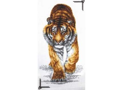 Набор для вышивания Палитра Поступь тигра